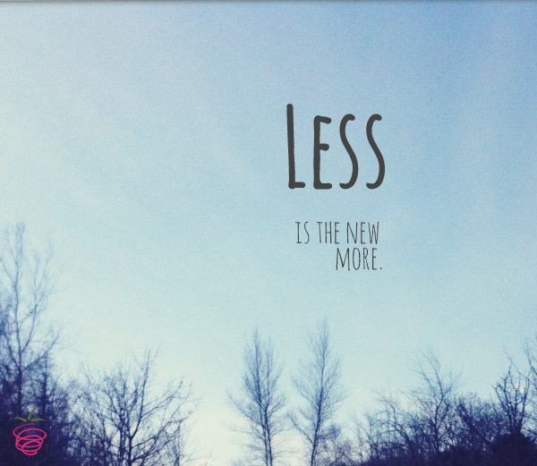 Less Stuff… More Happiness…..Really?
